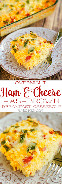 Overnight Hash Brown Casserole