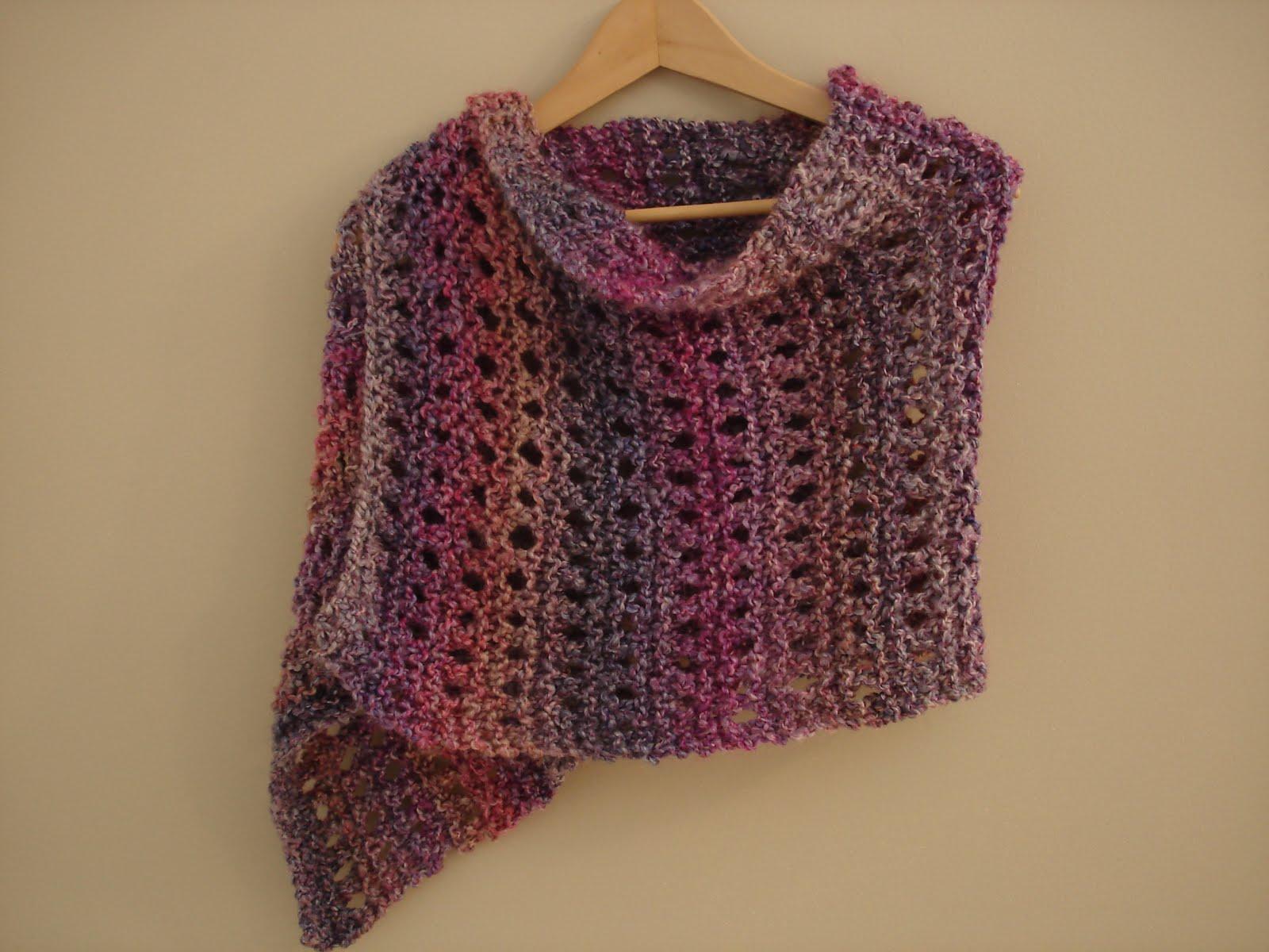 Fiber Flux: Free Knitting Pattern...A Peaceful Shawl!