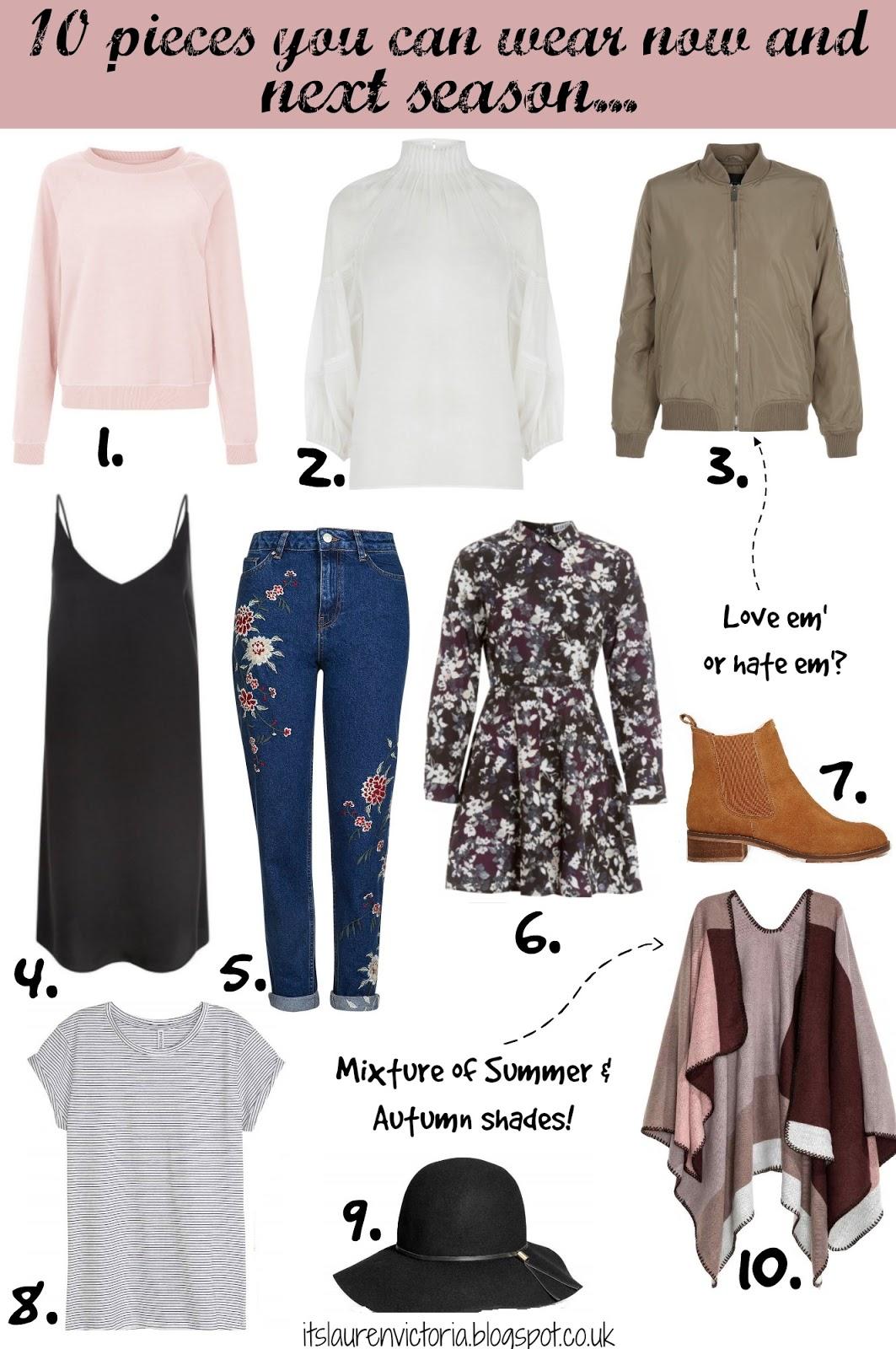 10 Pieces You Can Wear Now & Next Season