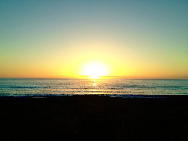 Sunrise over Hawke's Bay, New Zealand - Microadventure ideas