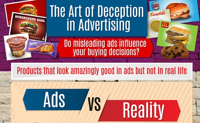 The Art Of Deceptive Advertising [Infographic]