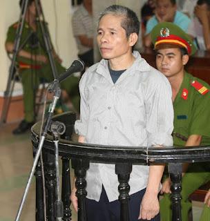 Bị cáo Trịnh Bá Khiêm tại phiên tòa xét xử năm 2014