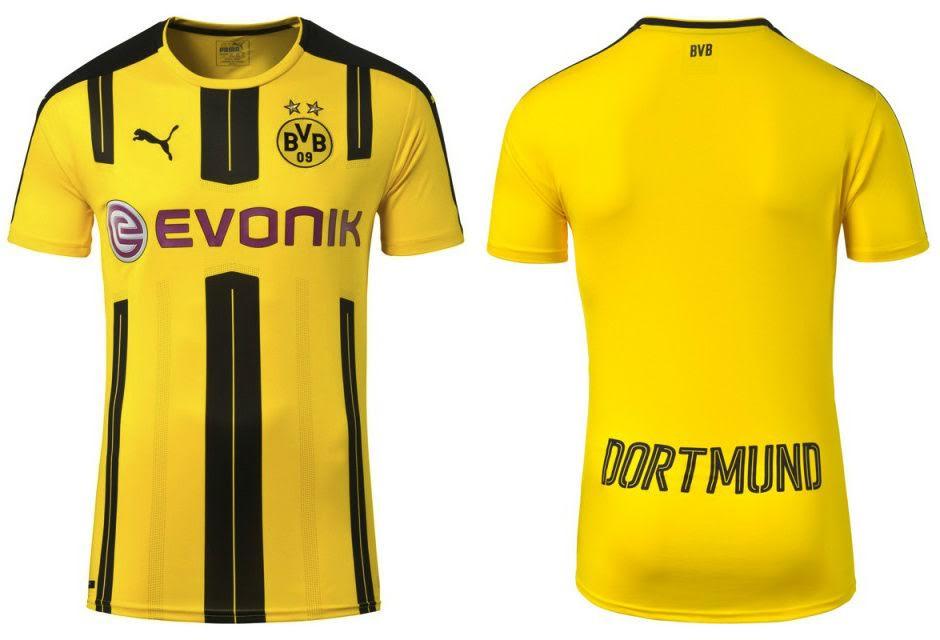 Este deve ser o novo uniforme do Borussia Dortmund para 2016 2017. Gostou  9bb09a347bfce