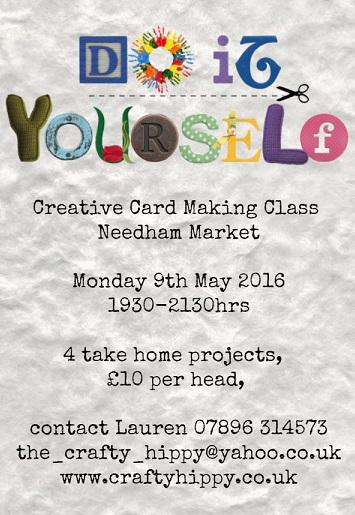 Stampin' Up! Card Making Classes, Needham Market, Suffolk