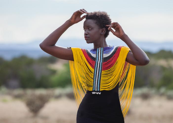 gorset damski z sudanu