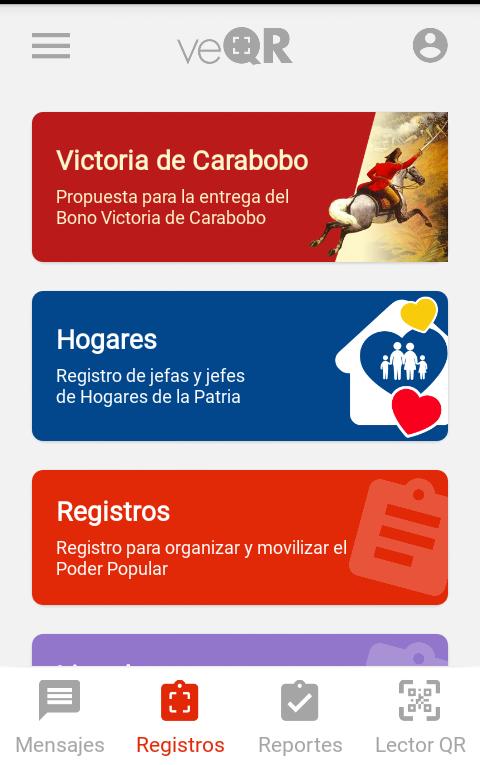 Se inició entrega de bono Victoria de Carabobo a través del Carnet de la Patria