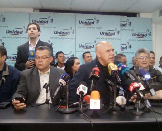 MUD: Anuncio del CNE es inconstitucional (+Video)