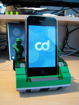 LEGO-docking-station