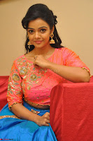Nithya Shetty in Orange Choli at Kalamandir Foundation 7th anniversary Celebrations ~  Actress Galleries 112.JPG