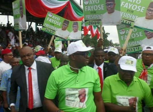 fayose campaign posters