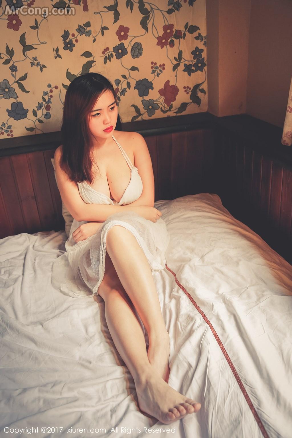XIUREN No. 73: Model Mi Ai (米 爱 Demon) (62 pictures)