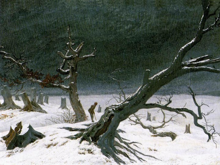 Caspar David Friedrich 1774-1840 | German Symbolist painter