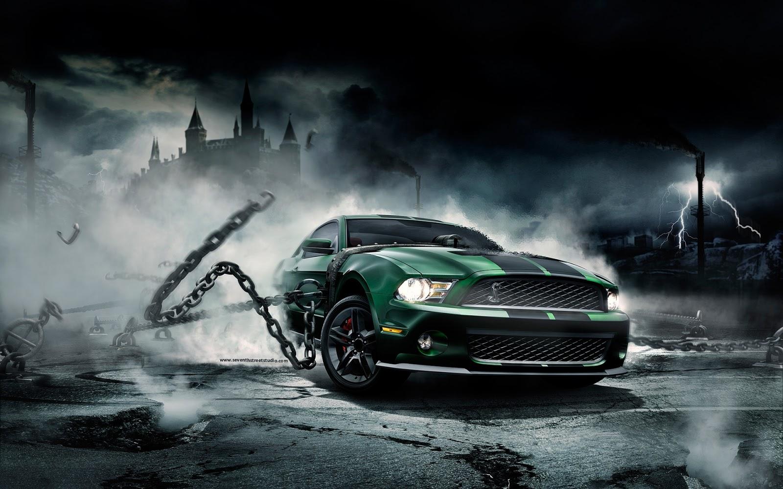 Fondo De Pantalla Coche Ford Mustang Gt