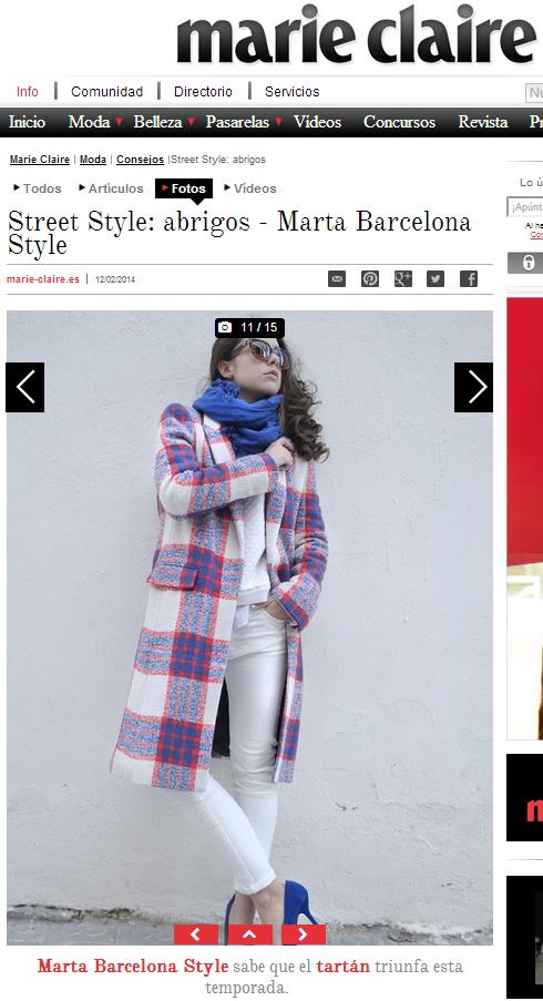 Street Style: abrigos - Marta Barcelona Style