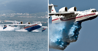 Tο ρωσικό αεροπλάνο – θηρίο που μπορούσε να «καταπιεί» τις πυρκαγιές