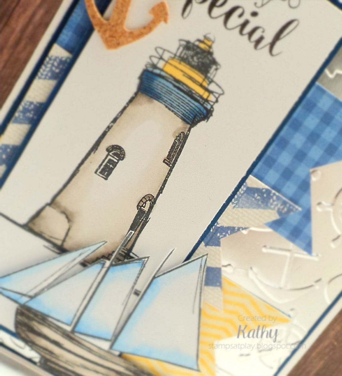Stamps At Play Set Sail