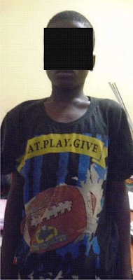 Teenage 'cultist' arrested for robbery in Lagos