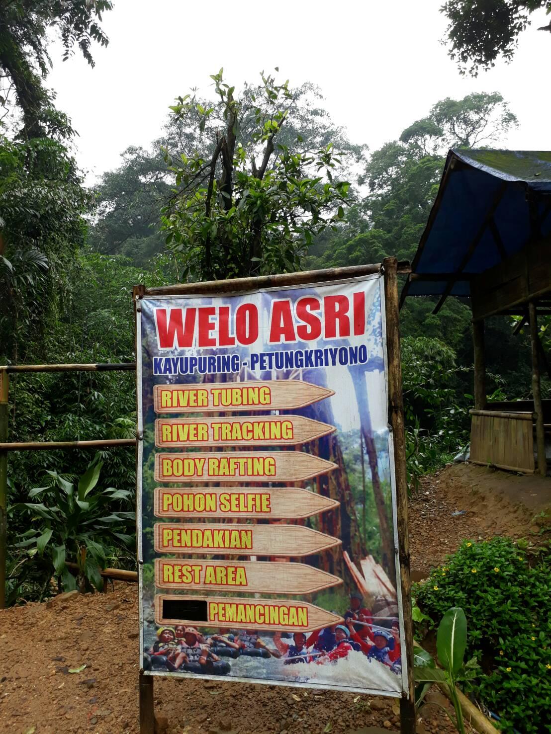 WISATA PETUNGKRIYONO: Welo Asri