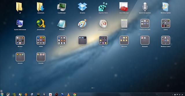 Windows 8 Seperti Launcher Aplikasi untuk Windows Vista dan 7