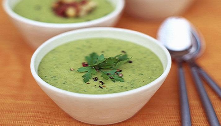 recette de soupes minceur ''Soupe de légumes verts'' | Ma