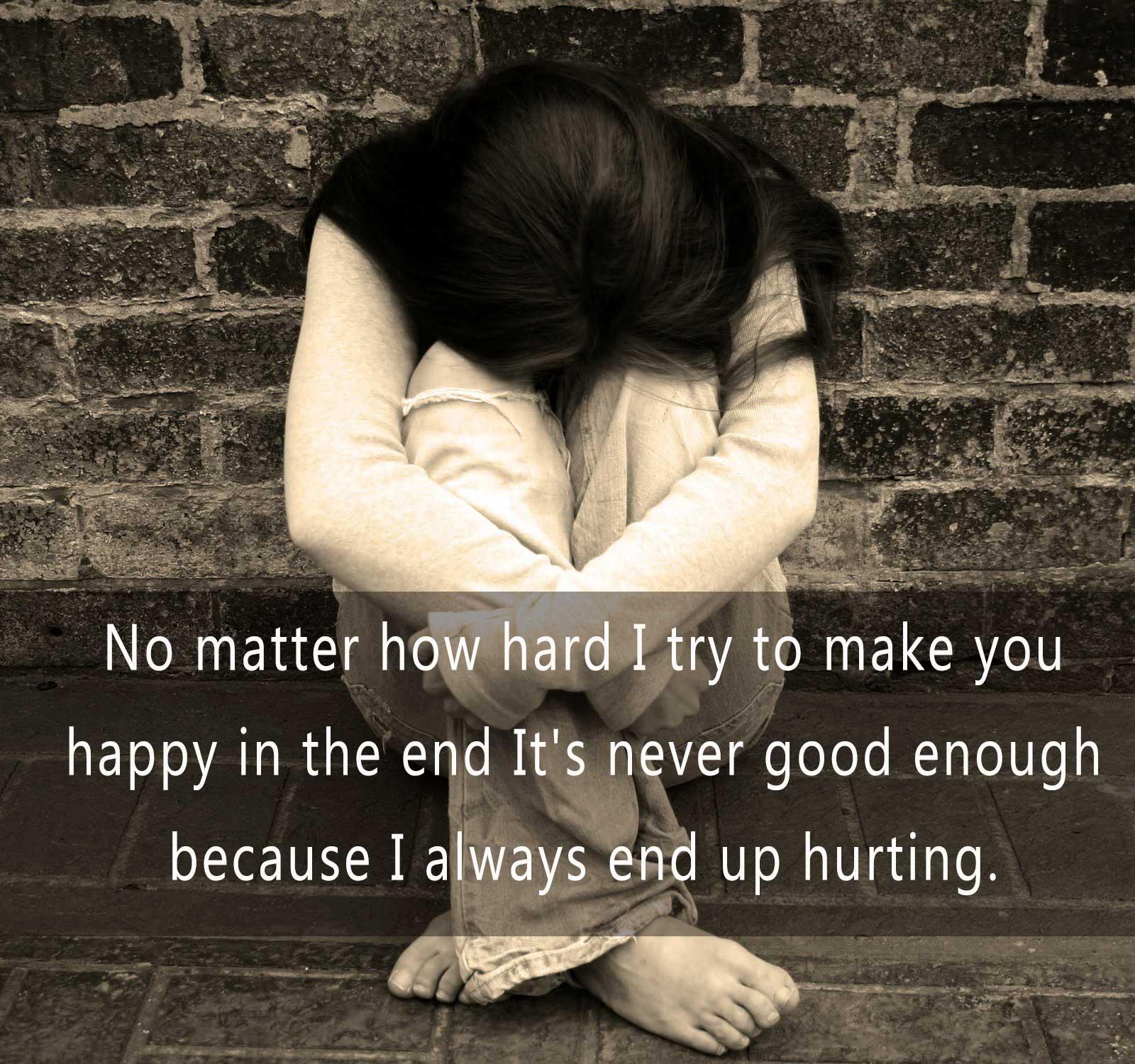 Emotional Breakup Sad SMS Pic, Girlfriend / Boyfriend