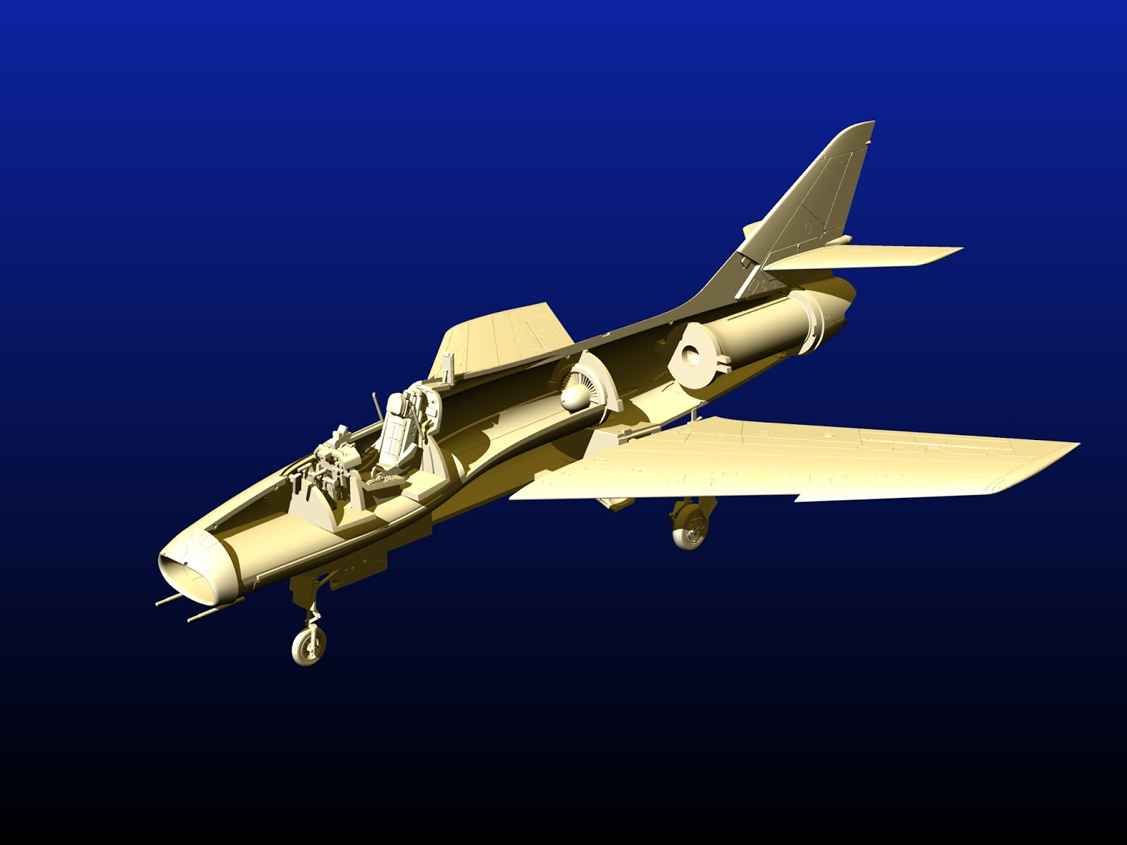 1/72 - Dassault Super Mystère B2 (SMB2) by Special Hobby / Azur-FROMM - CADs - release in 2017 ...