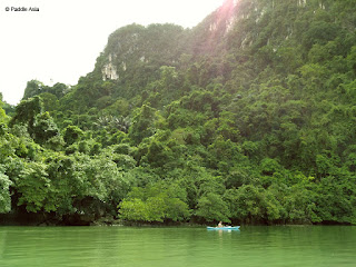Chong Lat Sea kayaking in Ao Phang Nga Bay