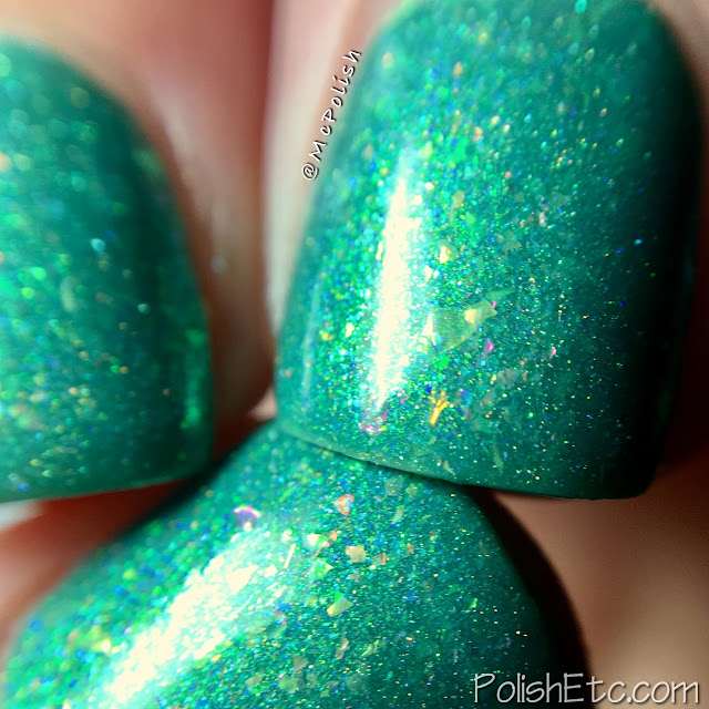 Road To Polish Con - Week 8 - McPolish - WTF Puck by Great Lakes Lacquer