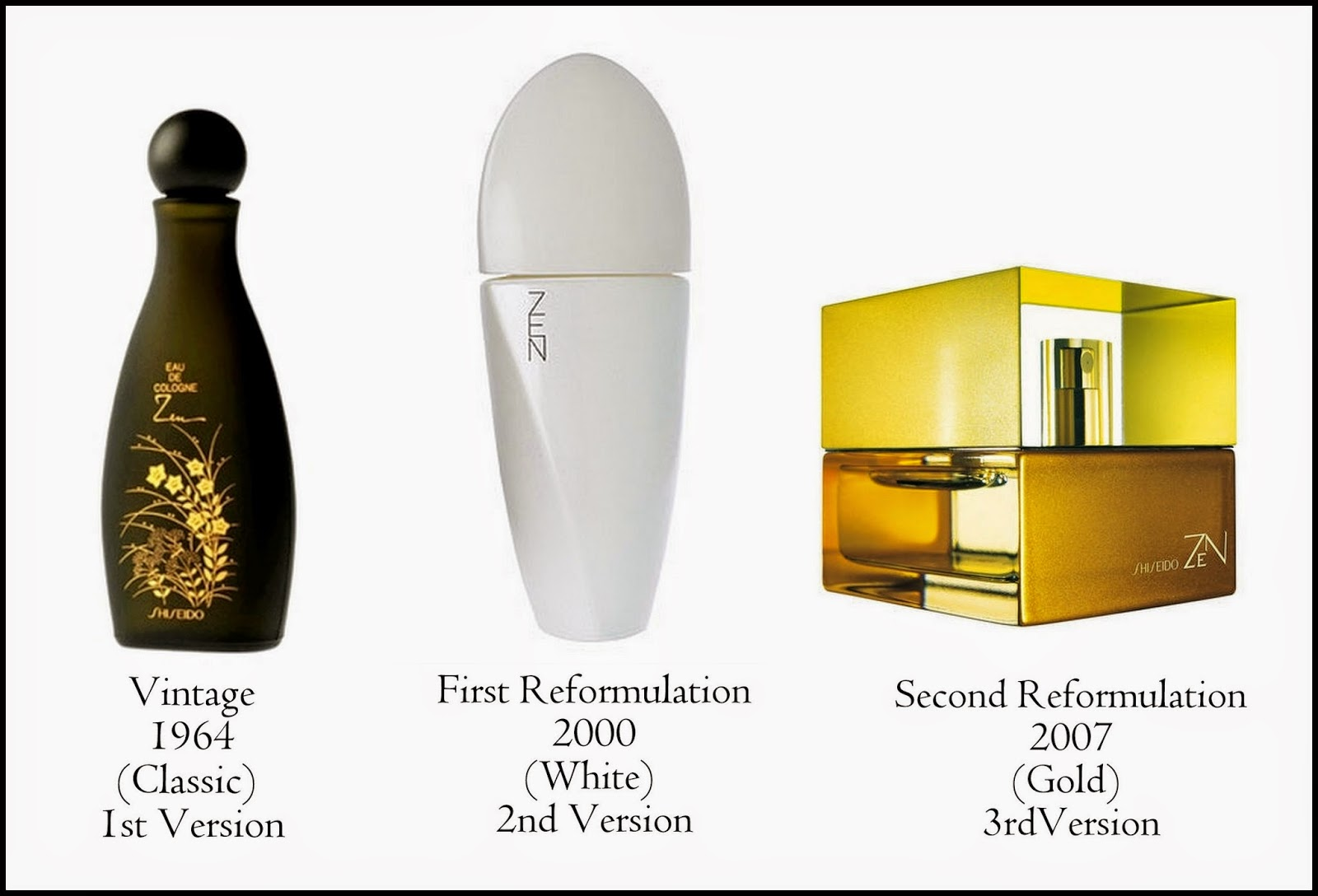 6a4c5785 Zen by Shiseido: launched in 1964. It was created by Josephine Catapano.
