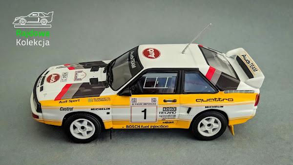 Minichamps Audi Sport Quattro, Rajd Akropolu 1985