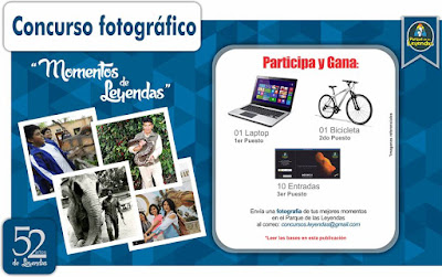 [Concurso] Gana una laptop, una bicicletas y pases de cortesia - Momentos de Leyendas