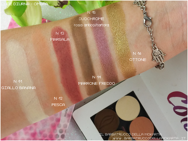 swacthes review eyeshadow Purobio Cosmetics