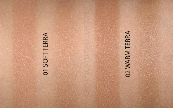 Dior Diorskin Mineral Nude Bronze Wild Earth Bronzing Powders Review Swatches 01 02 Soft Warm Terra