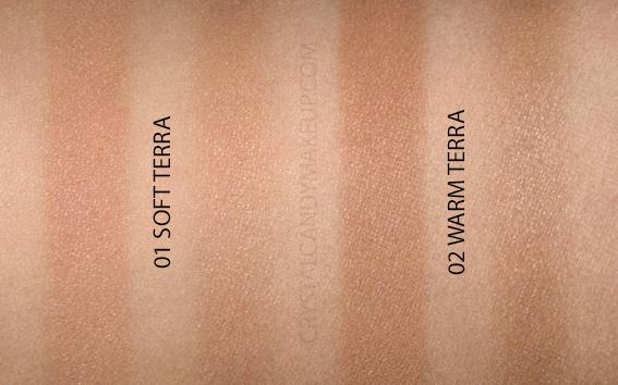 Dior Diorskin Mineral Nude Bronze Wild Earth Bronzing Powders Review Swatches 01 02 Soft Warm Terra