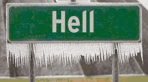 Image result for snowball in hell