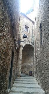 Girona, calle Escola Pia.