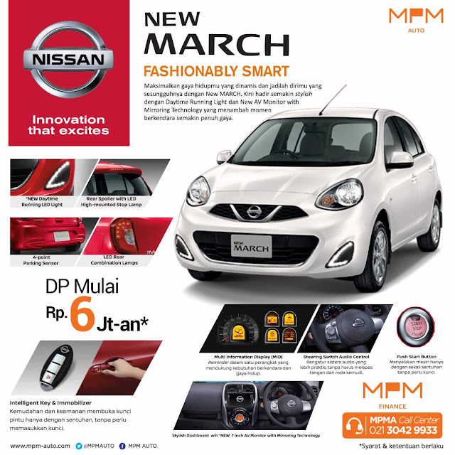 PROMO NISSAN MARCH