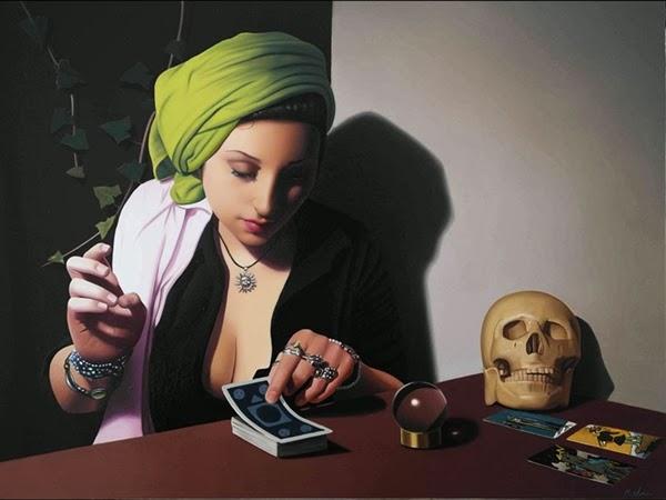Mujer y Tarot