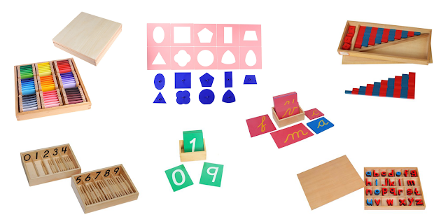 A look at a few Montessori materials for a new 4-year-old.