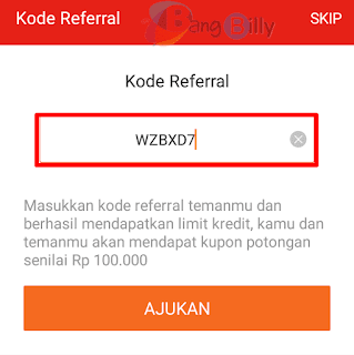 Kode referral