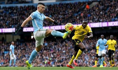 Trận đấu giữa Norwich vs Manchester City diễn ra ngày 12/3/2016