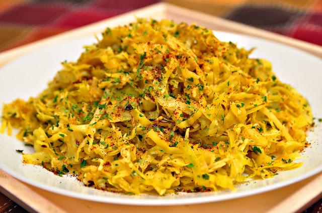 Goan Cabbage Foogath
