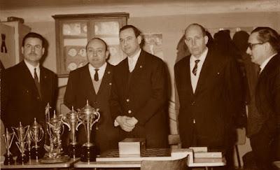 Trofeos del Club d'Escacs Gràcia, 7 de febrero de 1965