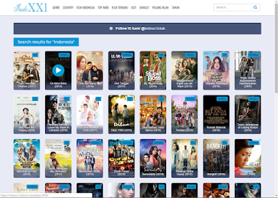 Situs Download Film Indonesia Terbaik 2019