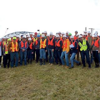 Mizzou Students Visit Garver Bridge Project