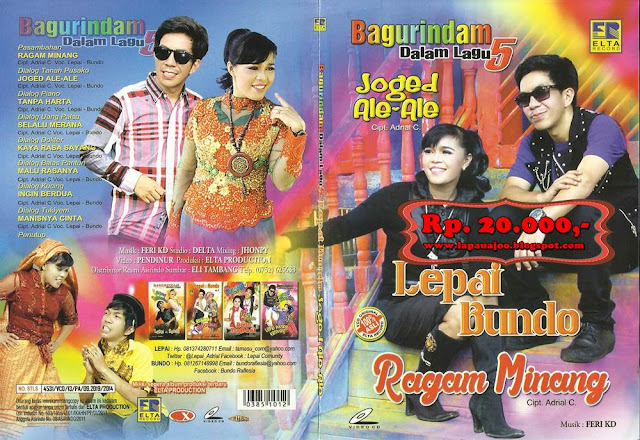 Lepai & Bundo - Ragam Minang (Album Bagurindam Dalam Lagu Vol 5)