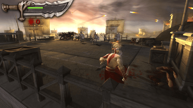 chains of olympus adalah game god of war terbaik versi psp