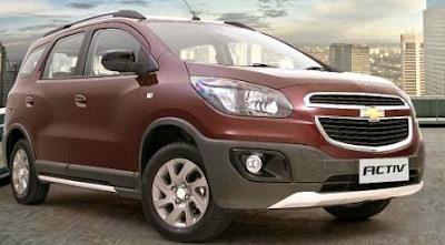 Harga dan Spesifikasi Chevrolet Spin Activ