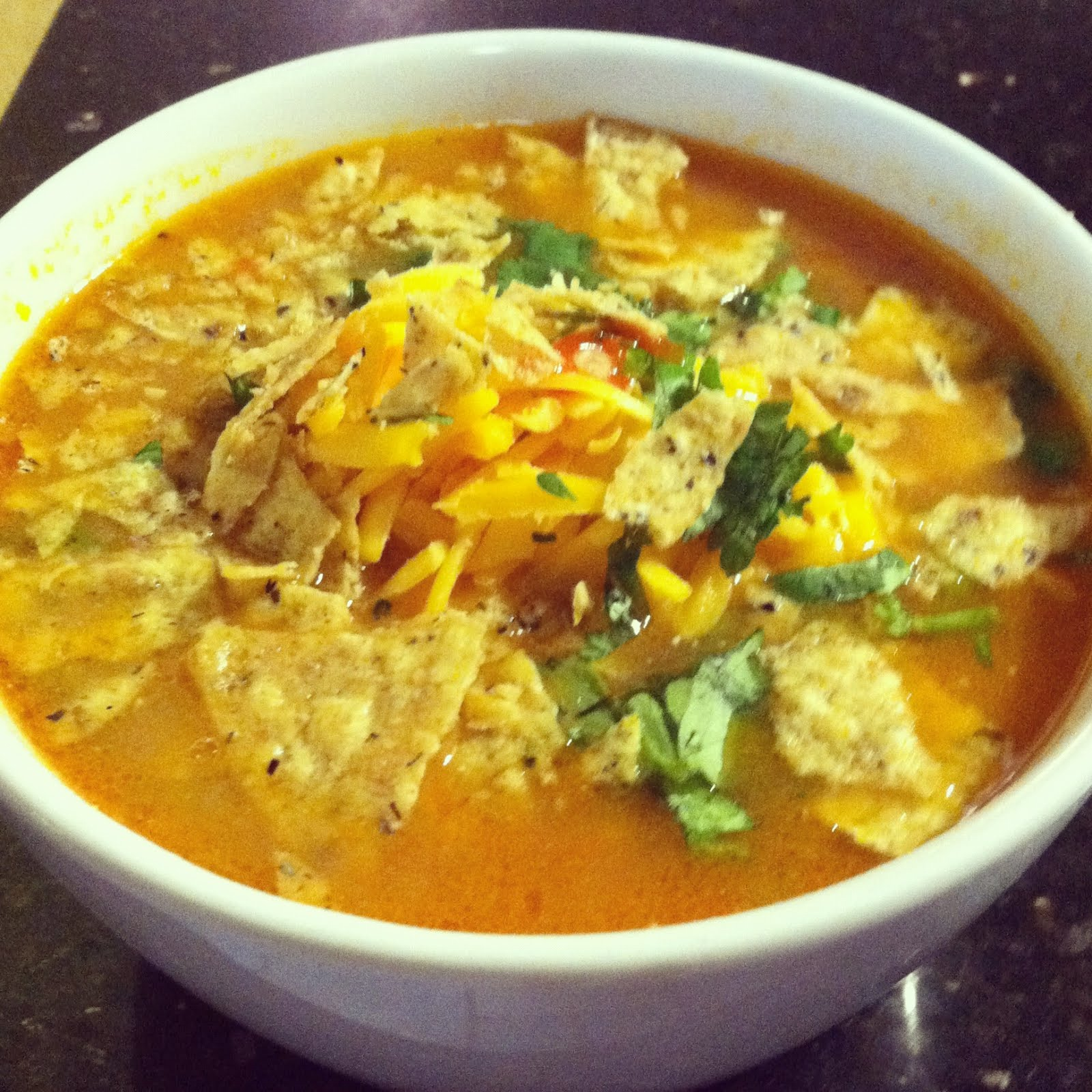 designer bags and dirty diapers: Mexican Chicken Tortilla Soup