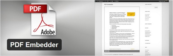 PDF Embedding plugin for WordPress